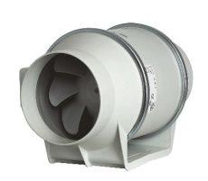 Műanyagházas kétfokozatú csőventilátor NA 100
