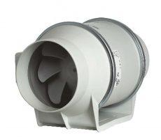 Műanyagházas kétfokozatú csőventilátor NA 150
