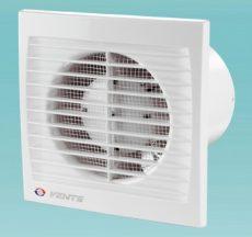 Fali elszívó ventilátor NA 100, 98m3/h, időrelével